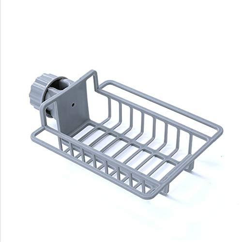 MNSYD Grifo de drenaje estante para fregadero, fregadero, grifo de esponja soporte de almacenamiento para colgar para jabón trapo esponjas accesorios de baño, estilo 2