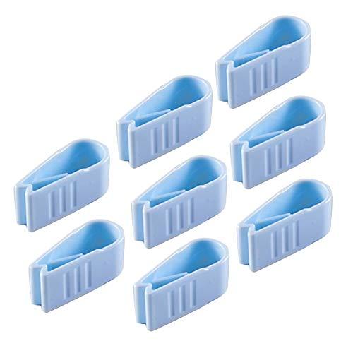 LUCYPAPASHOW 8 X Bettdeckenhalter Bettdecken-Clips, Bett Decken Clips Bettbezug Clips Für Dünnen Bettdecke Steppbett Steppbettdecke Einziehdecke
