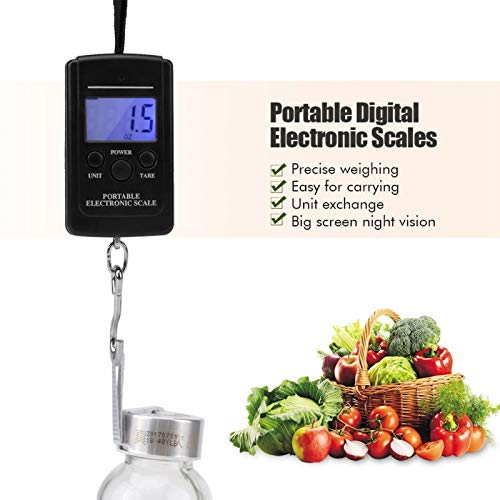 Measuring Scale, 40KG Handy Scale, for Kitchen Measuring Tool Weight Scale Home