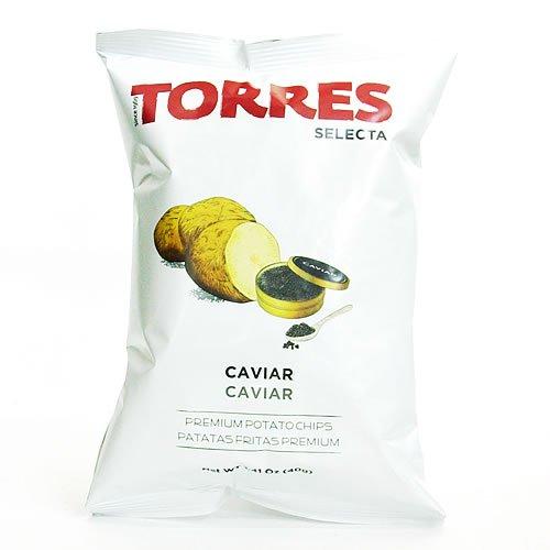 トーレス キャビアポテトチップス 40g×20袋まとめ買いセット