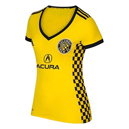 adidas MLS Women's Replica Short Sleeve Jersey, Columbus Crew SC Small