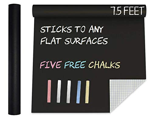 MMFB Arts Extra Large Blackboard Chalkboard Banner Vinyl Adhesive Paper