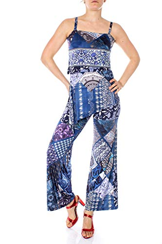 Desigual Jumpsuit Damen Blau