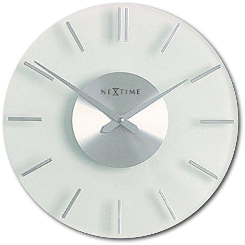 NeXtime Wanduhren, Metall und Kunststoff, Glas, Ø 26 cm