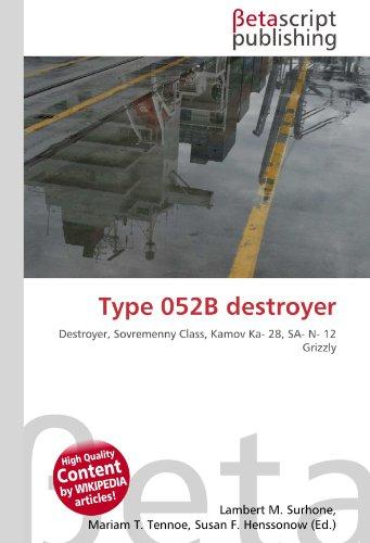 Type 052B destroyer: Destroyer, Sovremenny Class, Kamov Ka- 28, SA- N- 12 Grizzly
