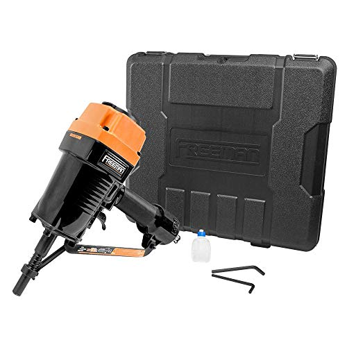 Freeman PSSCP Pneumatic 3″ Single Pin Concrete Nailer with Case