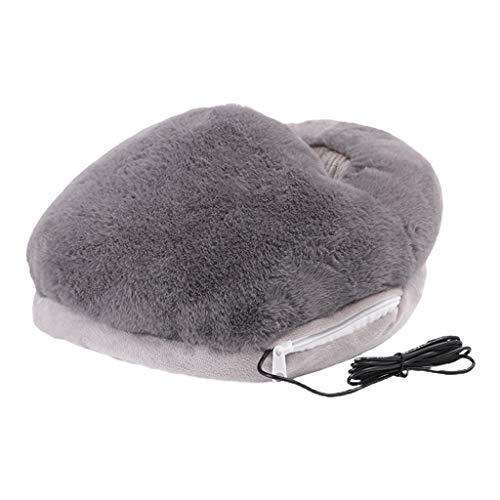 MIK Portable USB électrique Doux Chaud Chauffe-Pieds Lavable Confortable chauffé Chauffe-Pieds Coussin Chauffage Thermique ménage Hiver Petits appareils