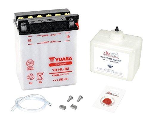 Preisvergleich Produktbild YUASA Batterie für Honda CBR 1000 F,  1989-2000 (SC24),  inkl. Pfand 7, 50