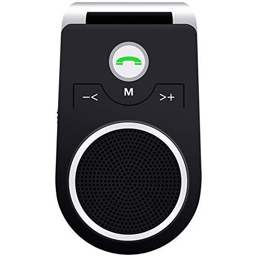 (Updated) Manos Libres para Coche, Altavoz Bluetooth Coche Inalámbrico Kit Adaptador de Coche...