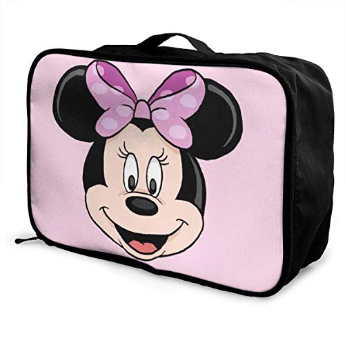 Travel Duffel Bag Mouse Lightweight Large Capacity Portable Lage Bag Weekender Bag Overnight Carry-on Tote