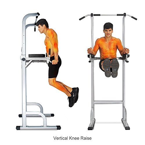Product Image 6: Ainfox Power Tower, Capacity 550 Lbs Pull Up Bar Tower Dip Stands Fitness Gym Office