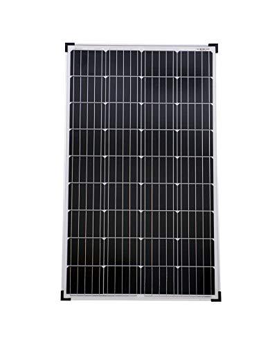 solartronics Solarmodul 130 Watt Mono Solarpanel Solarzelle Photovoltaik 90646
