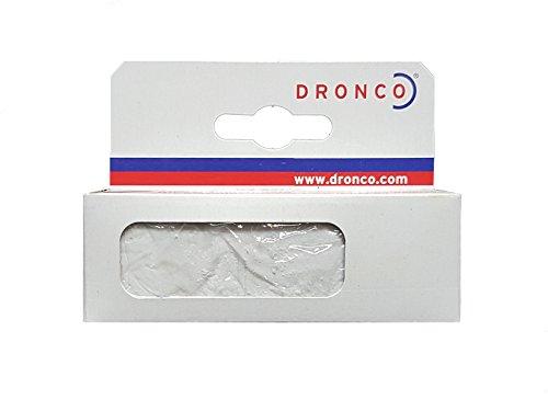DRONCO 6400403000 - Pasta para prepulir acero y acero inoxidable, blanca, 1 unidad