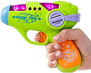 SaleOn Toddler Toys Mini Pistol Simulation Colorful Mini Electric Toy Gun with Music Light, Educational Shockproof Kids To...