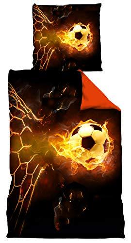 VertriebsArena GmbH Bettwäsche/Fussball Bettwäsche ** Schabowsky ** Orange, 4020208
