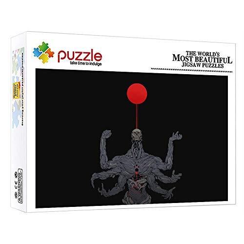 GFSJJ Jigsaw Puzles 1000 Piezas Puzzle Niños para Infantiles Niño Adultos Adolescentes Regalos Hombre Regalos Bicho Raro De Seis Brazos (38 X 26 Cm)