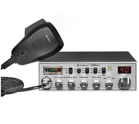 NEW! COBRA 148 GTL 40 Channel AM 80 SSB Classic Mobile CB Radio 12 Watt Radio