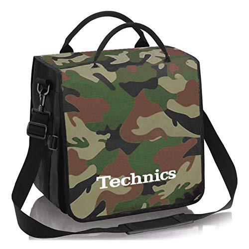 Technics BackBag Tasche Camouflage-Grün/Weiß