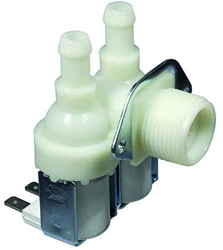 Válvula electromagnética Lavadora Lavavajillas Whirlpool Rex Candy Ariston 2Vías 90°