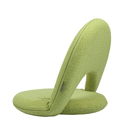 YAOBAO Siège Réglable À 5 Positions, Siège Confortable pour Enfants Et Adultes pour Sol Et Sol, Chaise d'allaitement sans Colle,Green