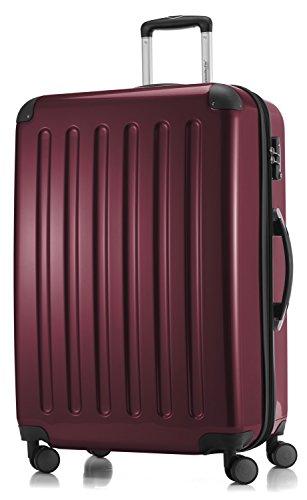 Alex Hoofdstokkoffer, 4 dubbele wieltjes, handbagage, hardshell-koffer, trolley, rolkoffer, reiskoffer