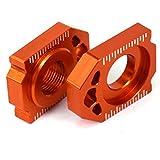 Motos CNC Bloques de eje trasero Ajustador de cadena para SX85 03-14 EXC EXCF XCW XCFW 125-530 SX SXF XC XCF 125-450 …