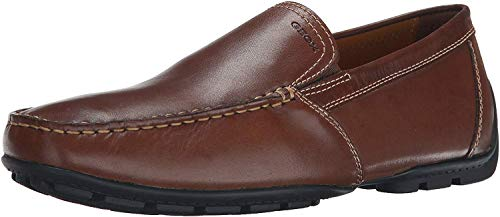 Geox U Moner V, Mocasines Hombre, Marrón Coffee C6010