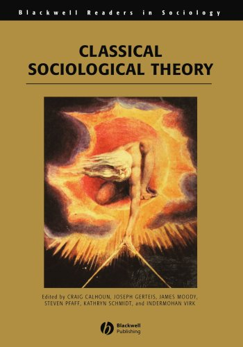 Classical Sociological Theory (Wiley Blackwell Readers in Sociology)