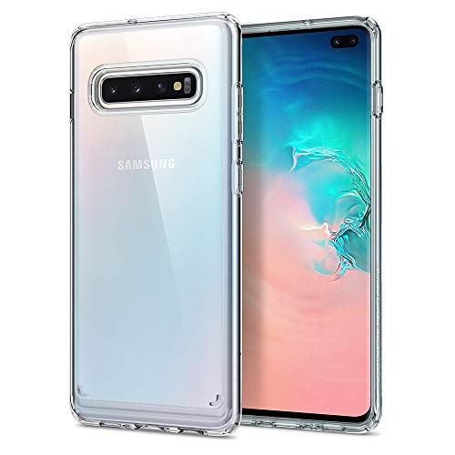 Spigen Cover Samsung Galaxy S10 Plus Ultra Hybrid Compatibile con Samsung S10 Plus Cover Custodia - Nero