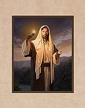 Simon Dewey Lead, Kindly Light- 11x14 Matted Fine Art Print- Christian Art Jesus Christ