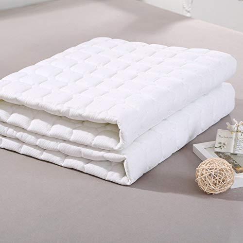 WANGXIAO Tatami vloermat, genoeg dikke zachte matras topper anti-slip machine wasbaar gemakkelijk te reinigen draagbare Eliminate verplaatsing.