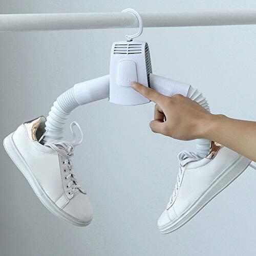 Tendedero eléctrico Secadora de ropa Secadora portátil Percha Plegable Viaje Lavandería Secadora de zapatos