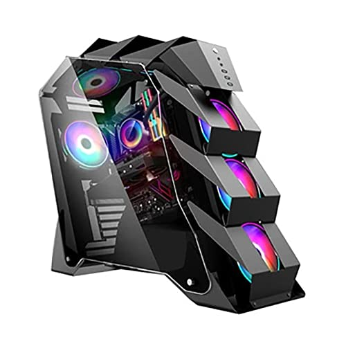 yaunli Caja de La Computadora ATX Ventilador De La Caja De Juegos...