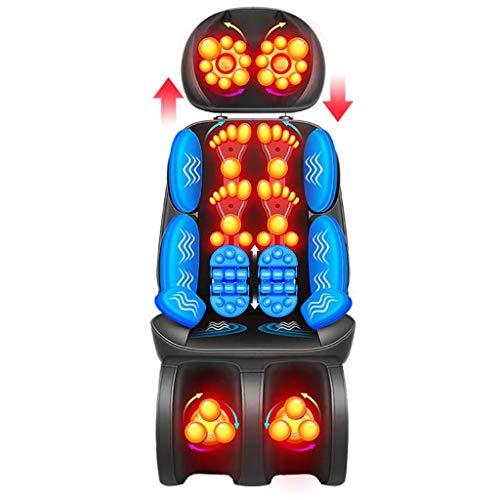 Sillones y asientos de masaje eléctricos Yhz@ Masajeador Cervical MultifuncióN Cuerpo Entero VibracióN Amasamiento Amortiguador Hogar-85w-Libre Split-Pisada/CráNeo Amasamiento