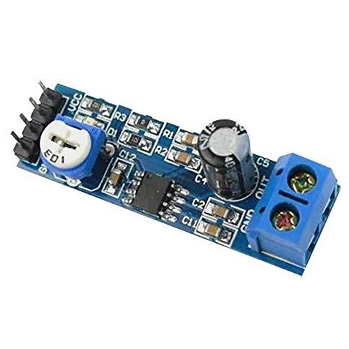 ARCELI 2 unids XH-M156 LM386 Tablero Amplificador / 200 Veces el módulo Amplificador de Ganancia/Amplificador de Audio Tablero Amplificador Mono