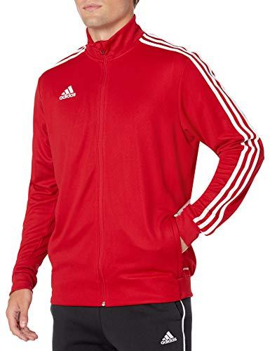 adidas Men's Soccer Tiro Track Jacket Team Power Red/White Large
