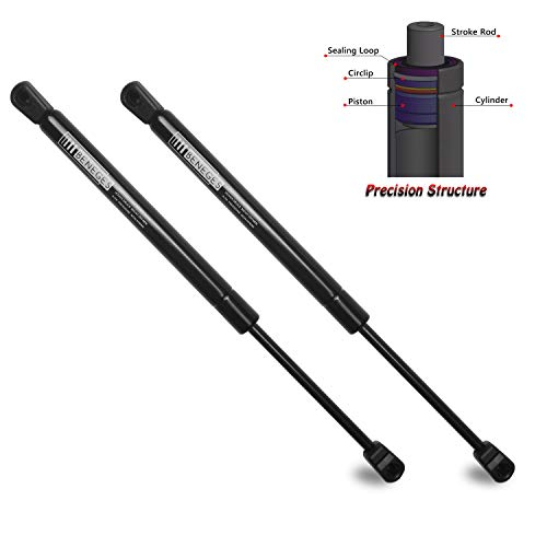 Beneges 2PCs Hood Lift Supports Compatible with 2007-2010 Hyundai Entourage, 2007 Kia Carnival, 2006-2012 Kia Sedona Front Hood Gas Charged Springs Struts Shocks Dampers 81161-4D000, SG350006