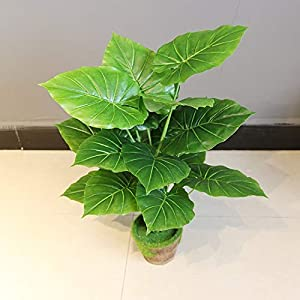 C.W.USJ Artificial Plants Nordic Style 66 cm Bamboo Bonsai Tree Simulation Plant Indoor Living Room Green Evergreen Wedding Holiday Flower Decoration Artificial Flower