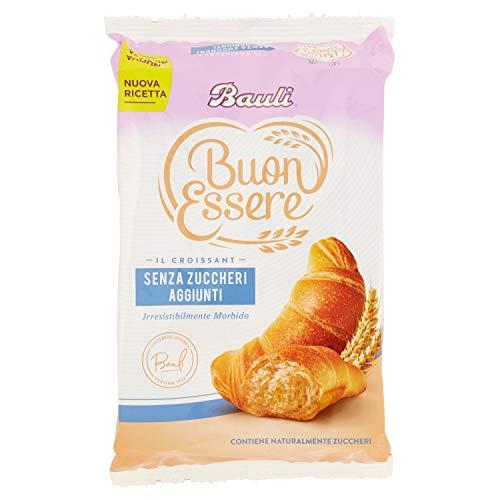 Bauli Croissant senza Zuccheri Aggiunti, Confezione da 5 x 40g