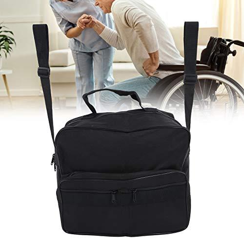 ZJchao Bolsa para silla de ruedas, bolsa de almacenamiento de accesorios para silla de ruedas para llevar artículos y accesorios sueltos, mochila de viaje portátil impermeable de gran capacidad
