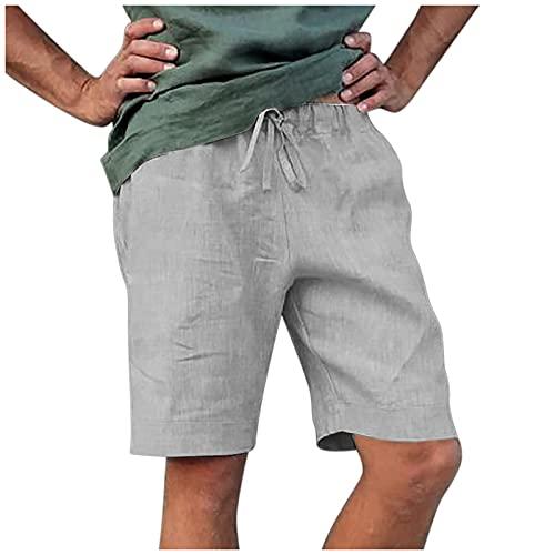 WWWSS pantalón algodón Lino Hombre Ropa Lino Hombre Pantalon Algodon Hombre Pantalones Hombre Lino Guardapolvos Deportivos Slim fit Casuales
