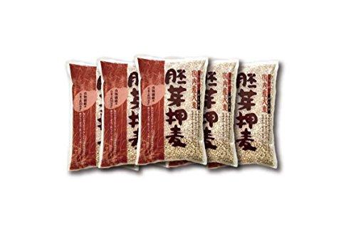 国産胚芽押麦1㎏×5袋(押麦)