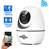 1080P HD Home Wireless Security Camera Indoor WiFi IP Camera Compatible Hiseeu Wireless Security Camera System with Two-Way Audio Pan/Tilt Motion Detection Night Vision SD Card Support APP EseeCloud