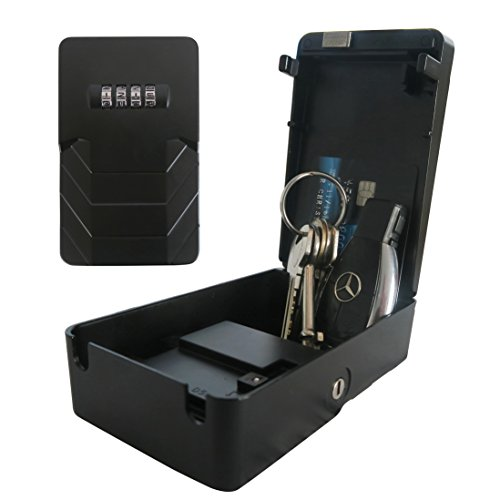 Caja de Seguridad Frostfire Mooncode, portátil, con Clave d