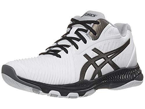 ASICS Men's Netburner Ballistic FF MT 2 Volleyball Shoes, 11, White/Gunmetal