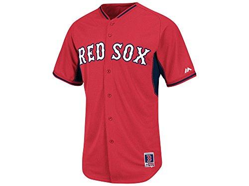 Majestic Men's Boston Red Sox Cool Base BP Jersey Size: 40