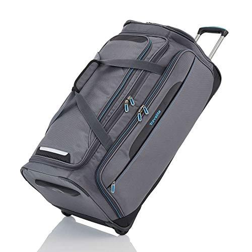 travelite Trolley Reisetasche Größe L, Gepäck Serie CROSSLITE: Robuste Weichgepäck Reisetasche mit Rollen im Business Look, 089501-04, 79 cm, 117 Liter, anthrazit