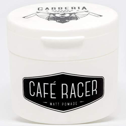 Cafe Racer matt Pomade, cera per capelli effetto naturale 80 ml a lunga tenuta