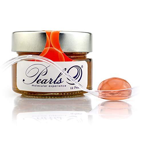 12 Pearls Sex on the Beach - Esferificaciones Premium listas para consumir (12 unidades). La vanguardia de la Gastronomía Gourmet en su mesa, la Coctelería Molecular. Productos Gourmet 2.0.
