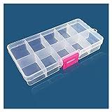 Cajas de herramientas Caja de herramientas portátil colorida extraíble 10 tragamonedas Almacenamiento de almacenamiento Joyas Anillo Piezas electrónicas Tornillo Beads Organizador Caja de plástico Alm